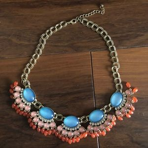 Francesca's Multi-colored Statement Necklace